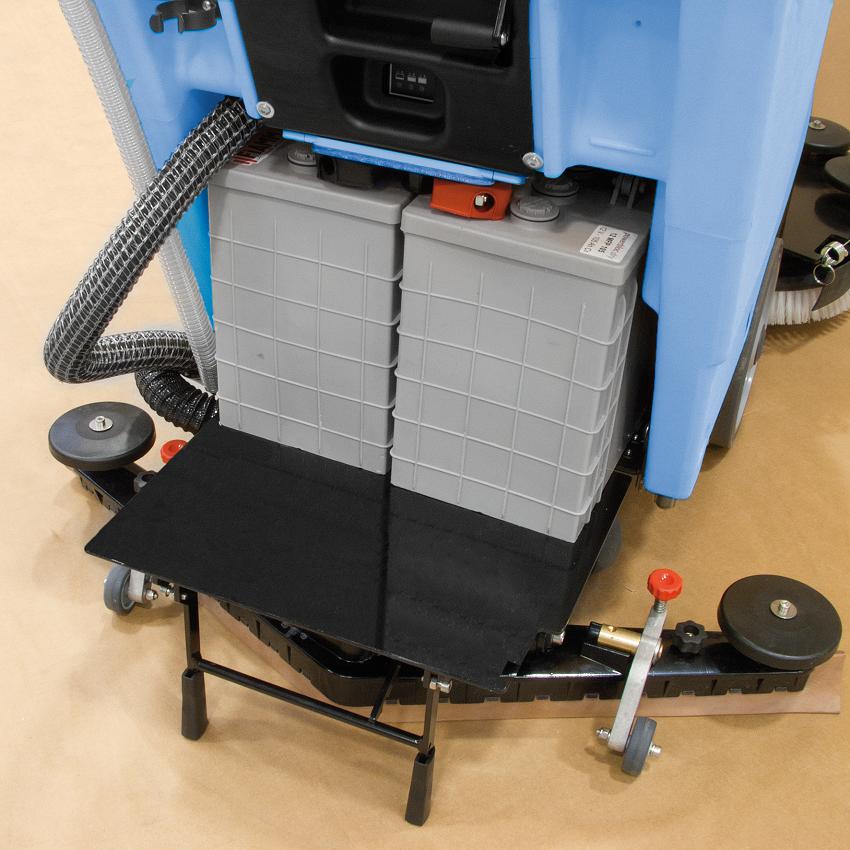 Четкова подопочистваща машина за миене на складове