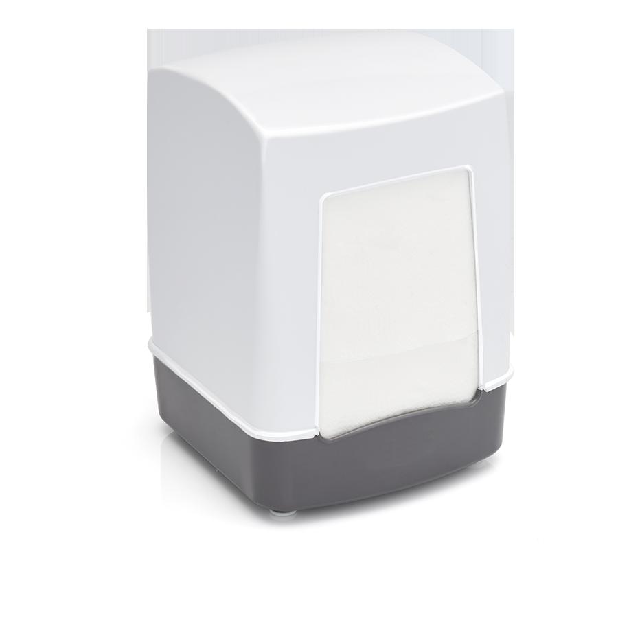Диспенсър за салфетки - Бял