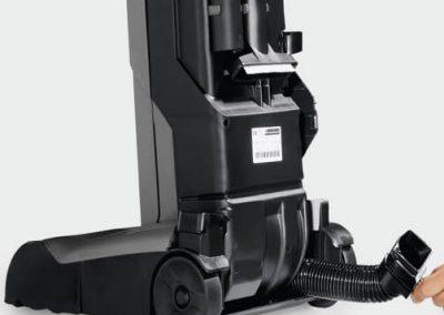 Професионална изправена прахосмукачка с ротационна четка Karcher CV 48/2 Adv