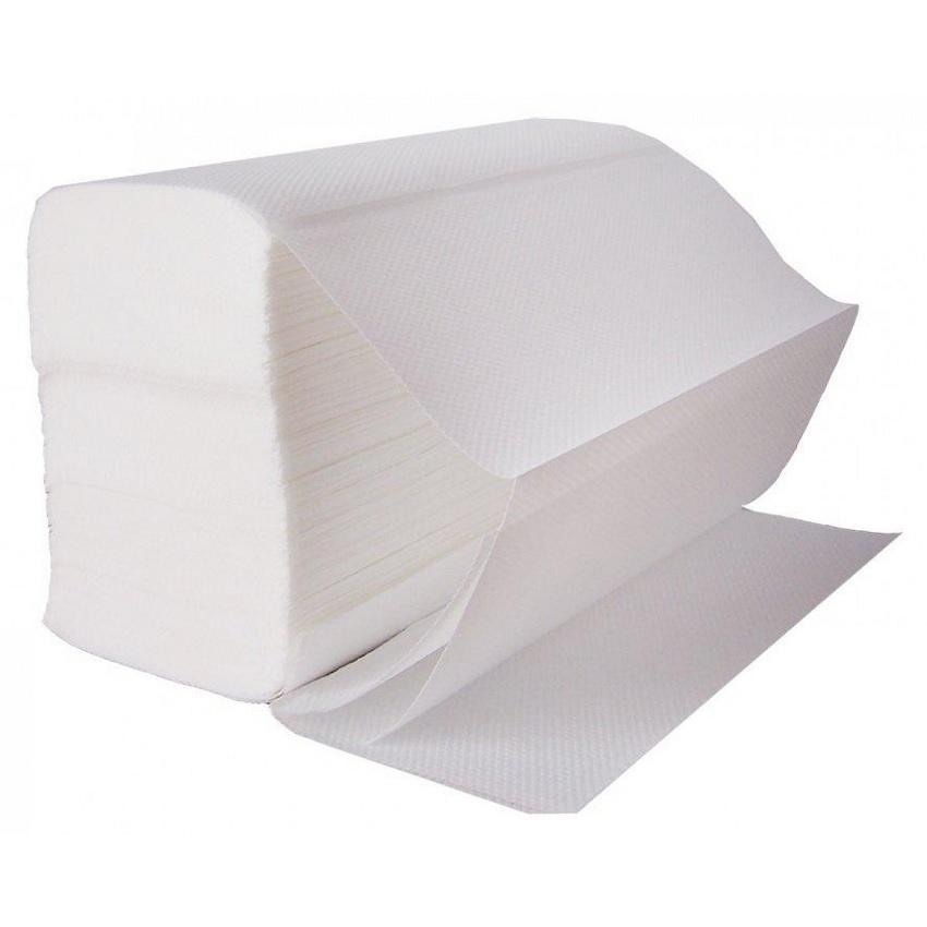 Кърпи за ръце Z-образни 100% целулоза 200бр.   За диспенсър