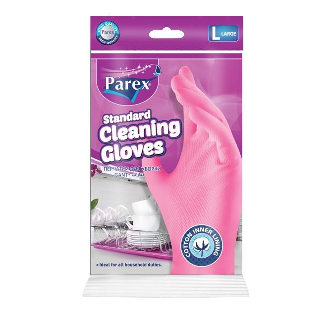 Домакински ръкавици за многократна употреба Parex - размер L