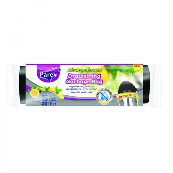 Ароматизирани торби за смет Parex Lemon - 15бр.