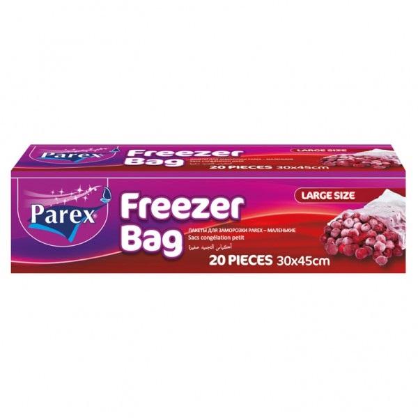 Пликове за съхранение на храна във фризера Parex - Размер L