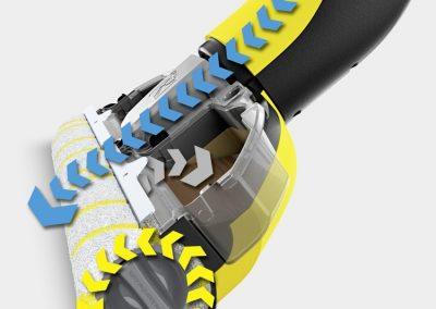 Машина за миене на твърд под на батерии Karcher FC 3 CORDLESS
